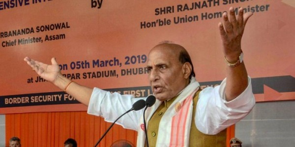 NRC: Rajnath, Sonowal review Assam situation
