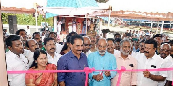 Second terminal of Kollam railway station opened