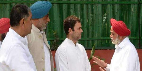 पंजाब के नाराज कांग्रेस विधायक पहुंचे राहुल गांधी के पास, सुनाया दर्द