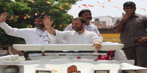 राहुल गांधी जालौन में करेंगे रोड शो, मंदिर में टेकेंगे मत्था-व्यापारियों से करेंगे मुलाकात