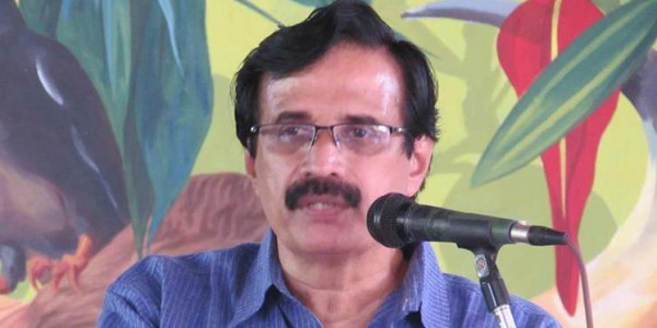 Kerala Education Minister Raveendranath had RSS background, alleges Congress MLA
