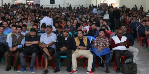 Mass participation at two-day ballot fest at Churachandpur district
