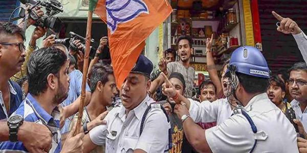 पश्चिम बंगाल में घर से बुलाकर कर दी भाजपा कार्यकर्ता की हत्या