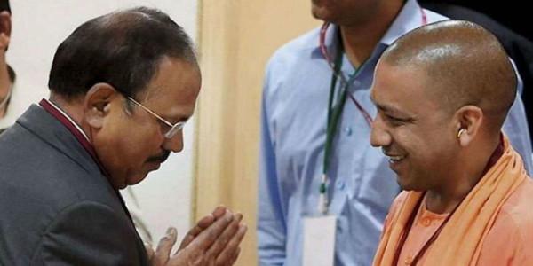 अयोध्या फैसले के बाद योगी केेेेेे एक्शन पर डोभाल ने थपथपाई पीठ