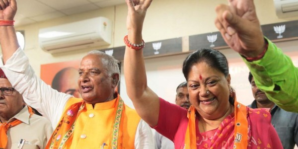 Modi magic behind BJP sweep, says former Rajasthan CM Vasundhara Raje