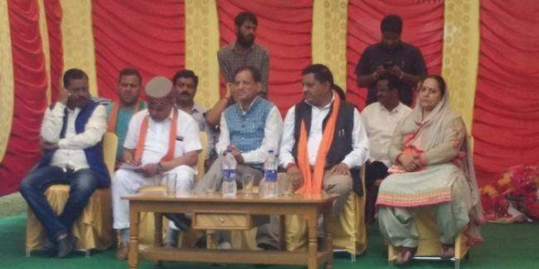 himachal-pradesh-kangra-bjp-candidte-programm-bjp-candidte-programme-at-baijanth