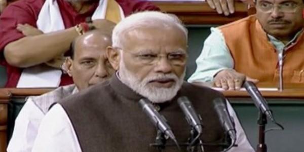 सांसद के तौर पर PM मोदी ने ली शपथ, सदन में गूंजे मोदी-मोदी के नारे