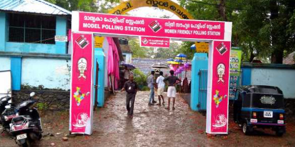 Polling for Chengannur by-election progresses; over 34 percent voting