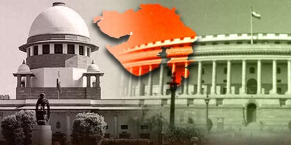गुजरात की राज्यसभा सीटों पर एक साथ होंगे चुनाव? सुप्रीम कोर्ट ने EC से मांगा जवाब