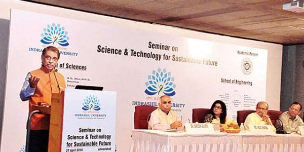Science and tech can bring devpt as well as destruction: Bhupendrasinh Chudasama