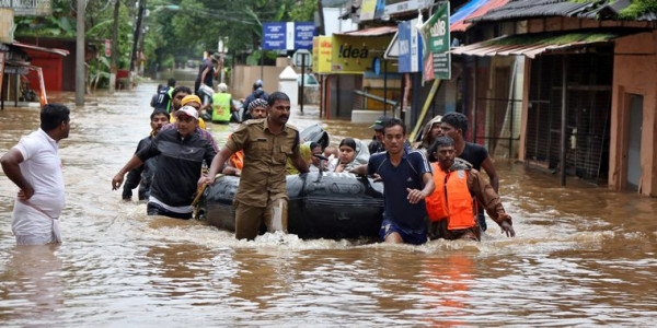 Nagaland donates Rs. 1 cr to flood-hit Kerala