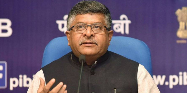 Digital transaction volumes up 51 per cent in 2018-19 to 3,133.5 crore: Ravi Shankar Prasad