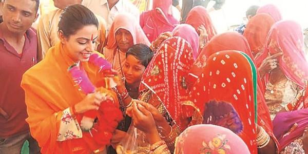 Rajasthan: Congress MLA Divya Maderna tells woman sarpanch to sit on floor, video goes viral