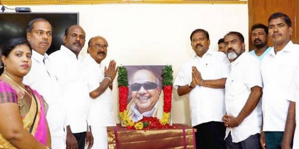 Karate Thiagarajan's act ruffles feathers in party