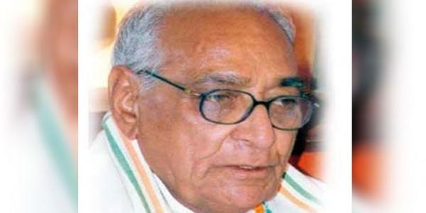 कांग्रेस के वरिष्ठ नेता मोतीलाल वोरा का आरोप- BJP ने 11 राज्यों में खरीद-फरोख्त कर बनाई सरकार