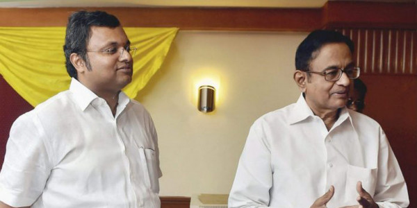 Karti Chidambaram's Birthday Wish for Father, Takes a Dig at Modi Govt