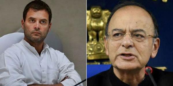 राफेल पर अरुण जेटली की राहुल गांधी को दो टूक, कहा- सार्वजनिक संवाद कोई लाफ्टर चैलेंज नहीं