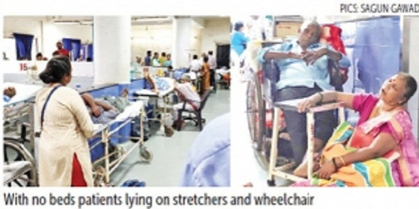 Rs 10.30 cr spent on MLAs' treatment, but COMMON MAN left to DIE on STRETCHER