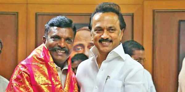 MK Stalin has filled Kalaignar's place in politics, says Thirumavalavan