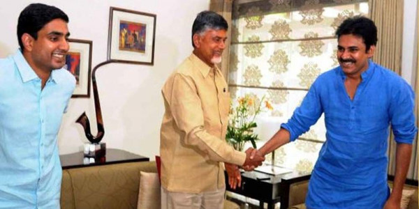 Chandrababu Naidu, Nara Lokesh birthday greetings to Pawan Kalyan