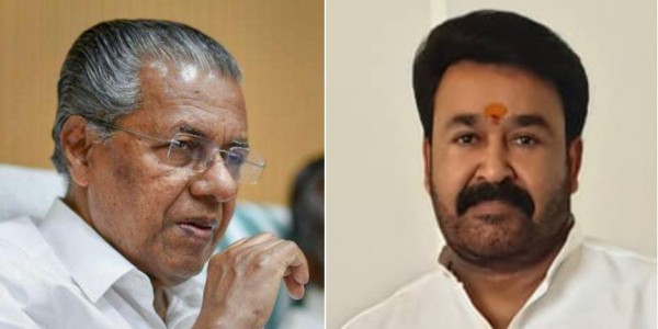 Kerala CM Pinarayi Vijayan unhappy with Mohanlal fans constantly cheering at an event