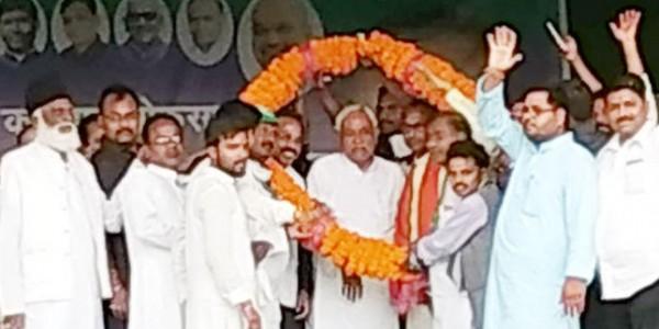 कटिहार में बोले नीतीश कुमार, 13 वर्षों तक किया हर वर्ग के लिए काम, अब मजदूरी लेने आया हूं