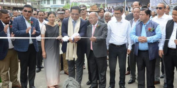 Meghalaya CM inaugurates Mawlai bypass, Mawkynroh Police OP