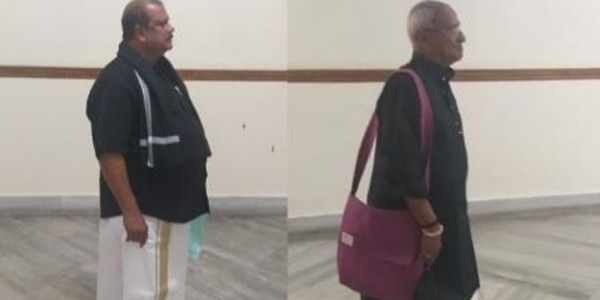 Ruckus in Kerala Assembly Over Sabarimala Row, Two MLAs Turn up as 'Men in Black'