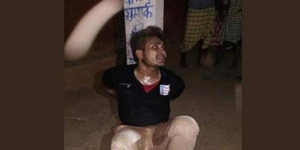 भीड़ ने चोरी के शक में खंभे से बांधकर पीटा था, जय श्रीराम के नारे भी लगवाए; युवक ने जेल में दम तोड़ा