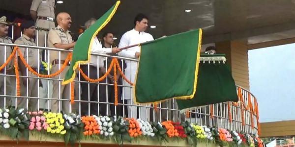Biplab Deb flags off Beat Patrolling unit of Tripura Police