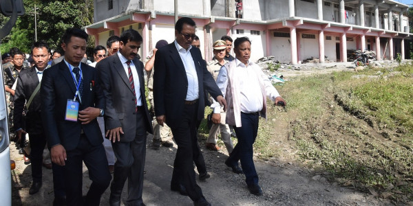 Arunachal Pradesh: DCM, Speaker inspected ongoing secretariat museum work