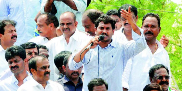 Cops stop people from meeting YSR Congress president YS