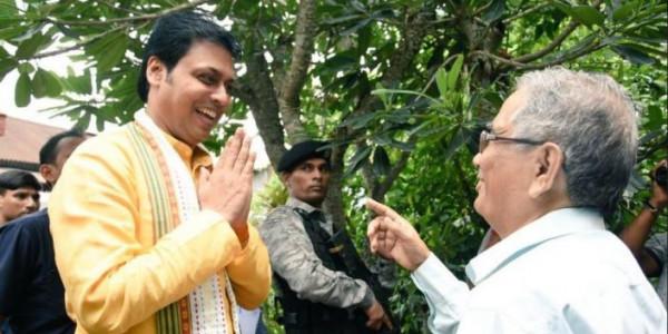 tripura cm sets base 2019 lok sabha elections focuses bjp's achievements last