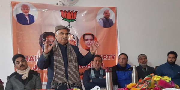 delimitation-in-jammu-and-kashmir-by-month-end-bjp molitics news