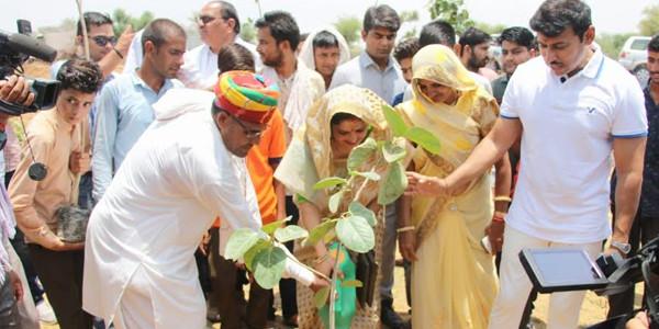 PM नरेन्द्र मोदी की प्रेरणा से जयपुर ग्रामीण में लगेंगे ग्यारह हजार पेड़: कर्नल राज्यवर्धन
