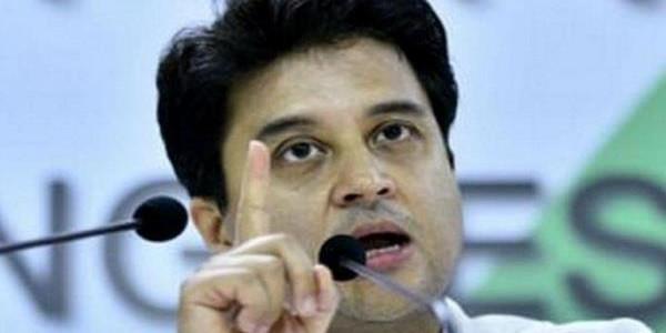 दिग्विजय पार्टी के सम्माननीय नेता हैं-सिंधिया