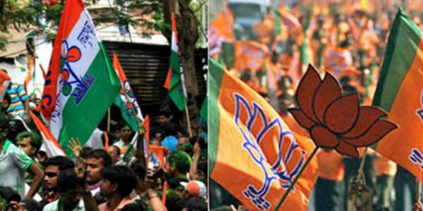 पश्चिम बंगाल में भाजपा-तृणमूल समर्थकों के बीच झड़प, पांच लोग घायल