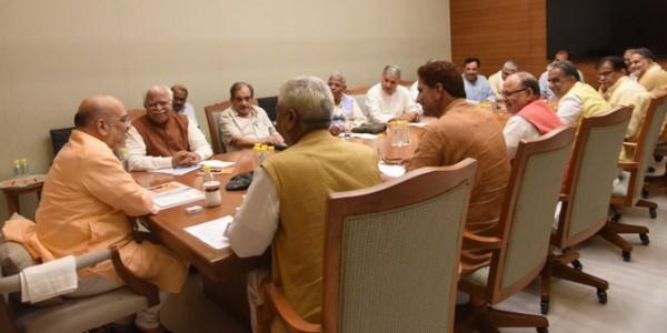 दिल्ली में हरियाणा बीजेपी कोर ग्रुप कमेटी की बैठक में मंथन, क्या-क्या लिए गए फैसले ?