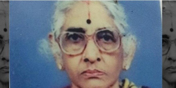 Kamala Ramasamy, a freedom fighter from Tamil Nadu passes away at 93