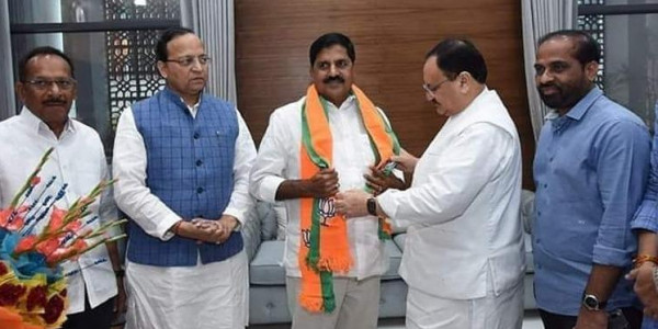 Former TDP Minister Adinarayana Reddy joins BJP