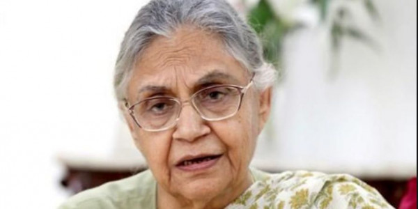 शीला दीक्षित के 'आख़िरी ख़त' से कांग्रेस में सामने आई गुटबाज़ी