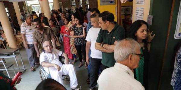 43.78 pc voter turnout till 3 pm in Maharashtra