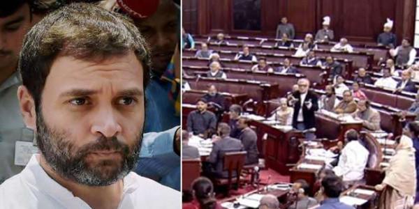 संसद में दुष्कर्म वाले बयान पर बवाल, राहुल गांधी बोले- मैं नहीं मांगूंगा माफी