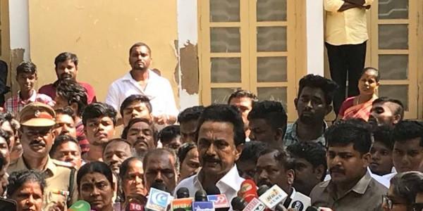 EC functioning like ally of govt.: Stalin