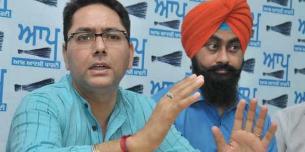 Sunam MLA Aman Arora appointed AAP campaign committee chief