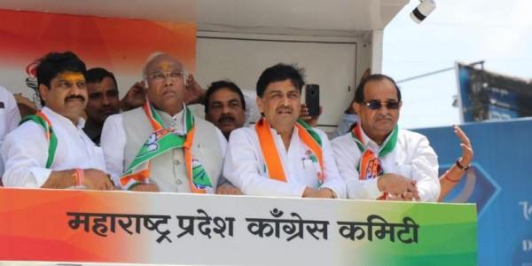 बीजेपी-शिवसेना गठबंधन पर कांग्रेस का तंज, पुराने बयानों की दिलाई याद