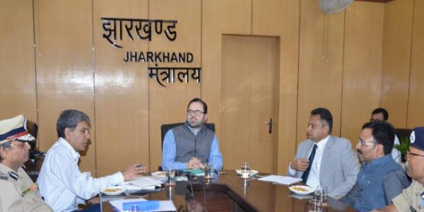 झारखंड ने विधानसभा चुनावों के लिए अर्द्धसैनिक बलों की 250 कंपनियां मांगी