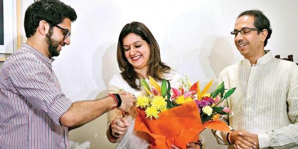 Shiv Sena appoints Priyanka Chaturvedi as party's 'Upneta'