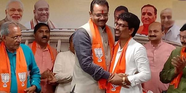 गुजरात में अल्पेश ठाकोर और धवल सिंह झाला भाजपा में शामिल