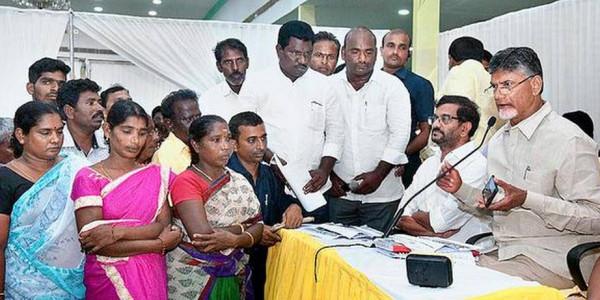 YSRCP unleashing a reign of terror in State: Naidu
